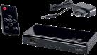 in-akustik Premium 4K HDMI Switch - 4 HDMI Eingänge / 1 HDMI Ausgang - Schwarz