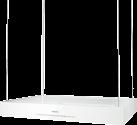 Miele DA 6700 D Aura Edition 6000, weiss
