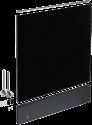 Miele GDU 55/65-2 - Dekorset-Unterbau - Für 55 cm Breite - Schwarz