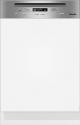 Miele G 3325 SCi - Integrierter Geschirrspüler - Kapazität 12 Massgedecke - Edelstahl Blende