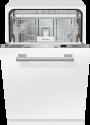 Miele G 3385 SCVi - Vollintegrierter Geschirrspüler - Kapazität 12 Massgedecke - Edelstahl Blende