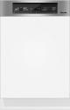 Miele G 3525 SCi - Integrierter Geschirrspüler - Kapazität 12 Massgedecke - Edelstahl Blende