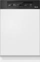 Miele G 3525 SCi - Integrierter Geschirrspüler - Kapazität 12 Massgedecke - Schwarze Blende
