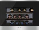 Miele KWT 6112 iG - Frigorifero da incasso per la conservazione dei vini - Capienza utile totale: 46 l - Argento