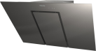 Miele DA 6498 W EXT Pure - Hotte murale à combiner - A++ - Gris graphite