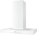 Miele DA 6698 D Puristic Edition 6000 - Hotte pour îlot - Niveau de puissance : 730 m3/h - Blanc