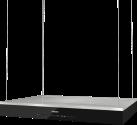 Miele DA 6708 D Aura Edition 6000 - Hotte pour îlot - Max. 620 m3/h - Acier inoxydable