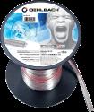 OEHLBACH Silverline SP-25 1000 - Câble pour haut-parleur - 2 x 2.5 mm2 - 10 m - Transparent