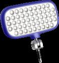 Metz mecalight LED-72 - Smartphone-Blitz - Blau