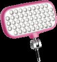 Metz mecalight LED-72 - Smartphone-Blitz - Pink