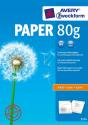 AVERY Zweckform Papier sans revêtement, DIN A4, 80 g/m², 500 feuilles
