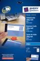 AVERY Zweckform Premium Cartes de visite en papier couché, 85 x 54 mm, 80 unités