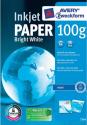 AVERY Zweckform White Inkjet Papier, DIN A4, 100 g/m², 500 Blatt