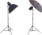 reflecta VisiLux StudioKit 300 - StudioblitzSet - Schwarz