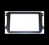 aiv 100918 Doppel-ISO-Autoradioeinbaublende