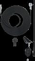aiv Dach-Antenne - 16V AM / FM - 150 Ω - Schwarz