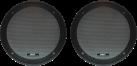 aiv Lautsprecherabdeckgrill - DIN 165 - Schwarz