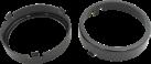 aiv Lautsprecher Montage Adapter - DIN 120 - Für MERCEDES-BENZ 124/E CLASS - Schwarz