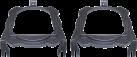 aiv Lautsprecher Montage Adapter - Für Opel - Grau