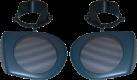 aiv Lautsprecher Montage Adapter - Für Volvo S40 - Schwarz