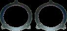 aiv Lautsprecher Montage Adapter - Für BMW 3 - Grau