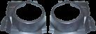aiv Lautsprecher Montage Adapter - Für Volkswagen Polo 6N2 - Grau
