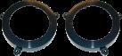 aiv Lautsprecher Montage Adapter - Für Mercedes Benz C-Klasse W203 - Schwarz