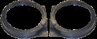aiv Lautsprecher Montage Adapter - Für Honda Civic VII - Schwarz