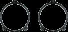 aiv Lautsprecher Montage Adapter DIN 165 - Für BMW - Schwarz