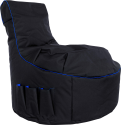 Gamewarez Arctic Blizzard - Gaming Seatbag - Nero/Blu