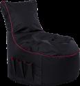 Gamewarez Crimson Thunder - Gaming Seatbag - Nero/Rosso