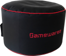 Gamewarez Crimson Station - Gaming Station - Nero/Rosso