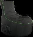 Gamewarez Toxic Storm - Gaming Seatbag - Nero/Verde