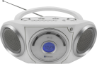 Soundmaster RCD5000WS - Lecteur CD - Bluetooth - Blanc