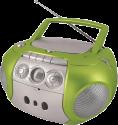 Soundmaster SCD5200GR - Radiocassette CD - Horloge LCD - Vert