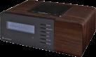 soundmaster UR180 - Uhrenradio - DAB+ - Dunkelbraun