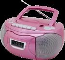 soundmaster SCD5750PI - Boombox stéréo -  lecteur CD - pink