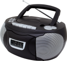 soundmaster SCD5750SW - CD Radio Cassette - Avec microphone - Noir