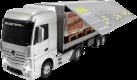 Dickie Toys Lastwagen Set mit Stapler RTR