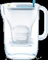 BRITA fill&enjoy Style - Wasserfilter - Füllmenge/Fassungsvermögen 2.4 Liter - Blau