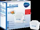 BRITA MAXTRA+ Kartuschen Pack 12 - Wasserfilter-Kartuschen - 12 Stück - Weiss