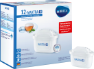 BRITA Cartouche MAXTRA+ Paquet 12 - Cartouches filtrantes à eau - 12 pièces - Blanc