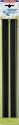 LEIFHEIT Set languettes de caoutchouc pour aspirateur de fenêtre - Noir