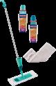 LEIFHEIT Set CARE & PROTECT - Für versiegeltes Parkett/Laminat - 5-teilig