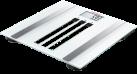 SOEHNLE Body Control Easy Fit - Personenwaage - Tragkraft 180 kg - Weiss