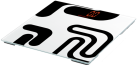 SOEHNLE Magia Black - Personenwaage - Tragkraft 180 kg - Weiss/Schwarz