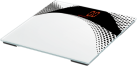 SOEHNLE Magia White - Personenwaage - Tragkraft 180 kg - Weiss/Schwarz
