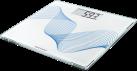 SOEHNLE PWD Style Sense Compact 300 pure blue - Bilancia da bagno - Fino 180 kg - Bianco/Blu
