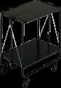 LEIFHEIT 74237 - Carrello - Capacità di carico 15 kg - Nero