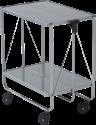 LEIFHEIT 74289 - Servierwagen - Bis 15 kg belastbar - Silber